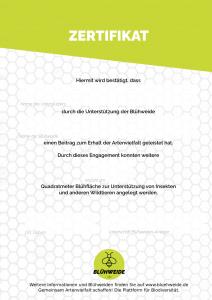 Zertifikat_Blühpate